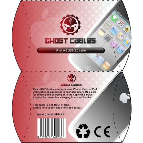 Ghost Cables product packaging
