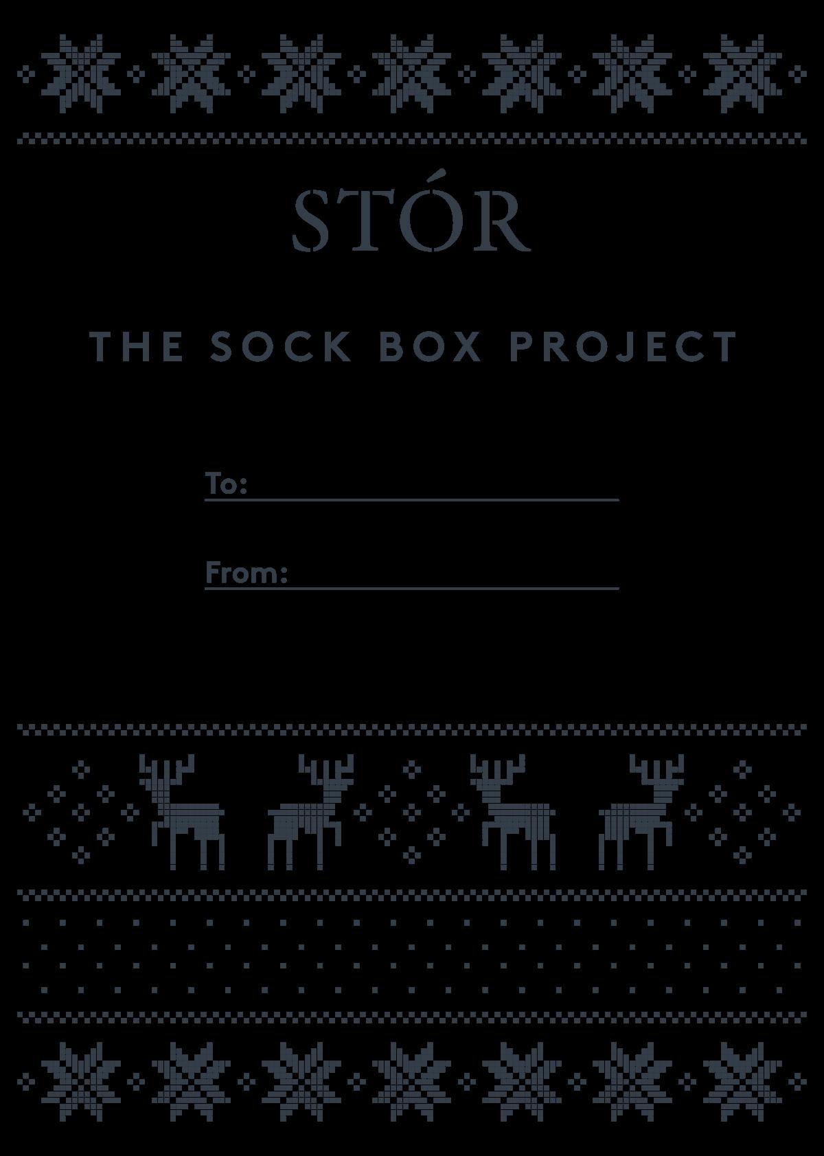Sock Box Project