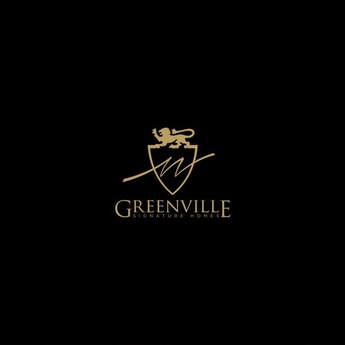 Heraldic logo for Greenville Signature Homes
