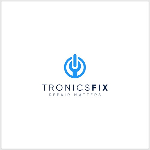 Logo Design for TronicsFix, An Electronics Repair Education Business