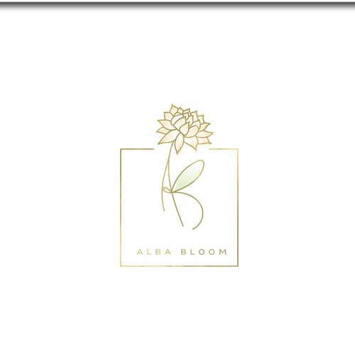 Branding for Alba Bloom