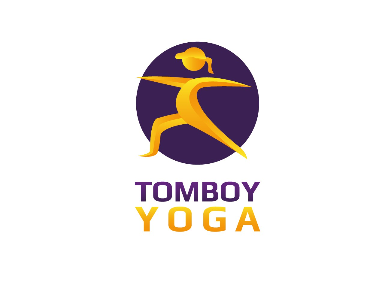 logo for Tomboy Yoga