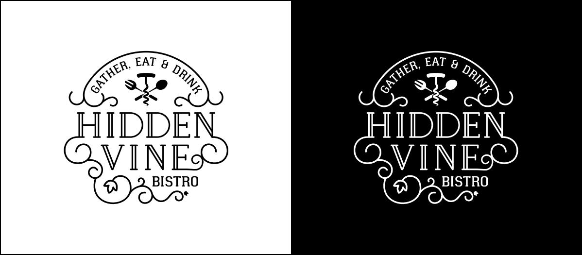 Hidden Vine Logo