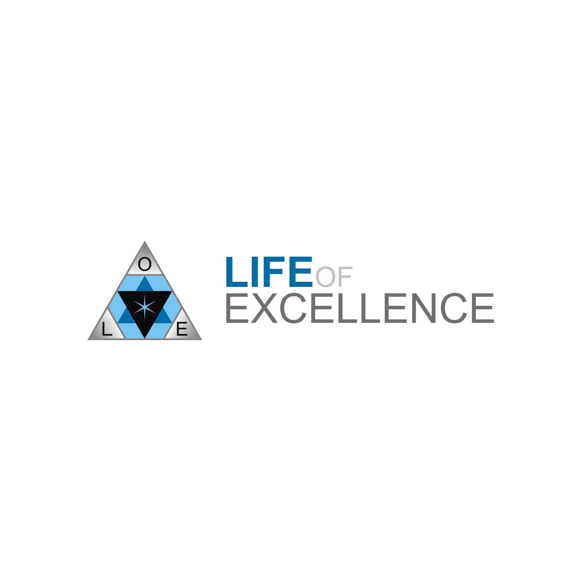 Design a triangular / geometric logo for a wellness company