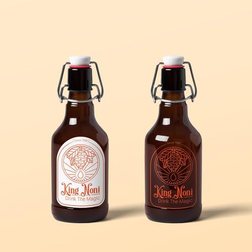 logo design for juice - Mockup