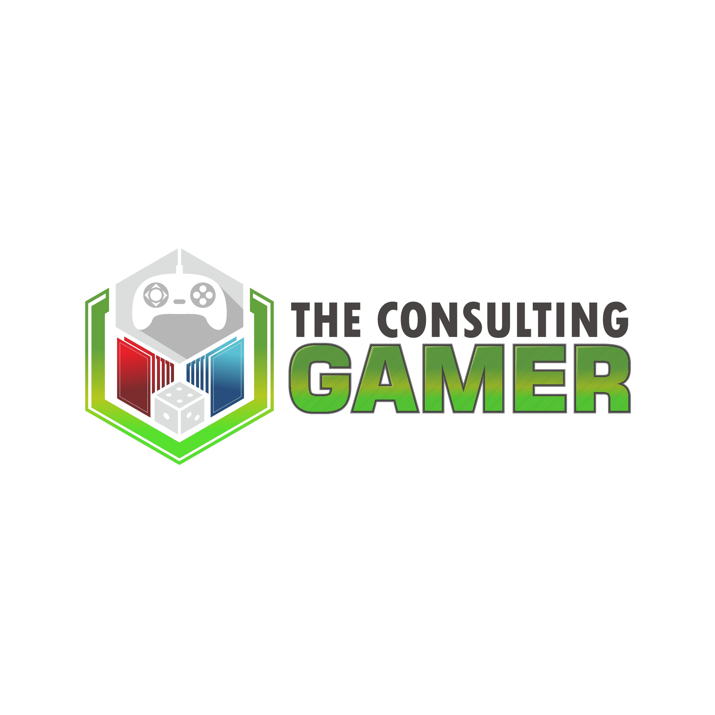 Create an exciting new logo to relaunch and rebrand a gaming and hobby retailer.