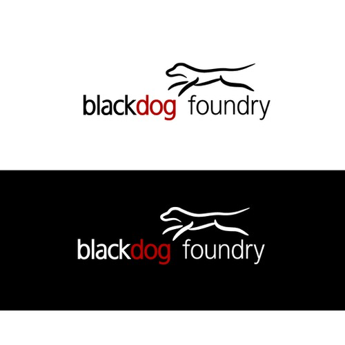 BlackDog Foundry - Mobile App Development Logo