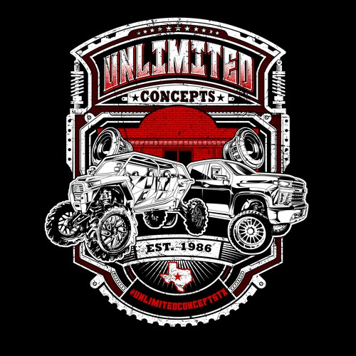 UNLIMITED CONCEPTS TSHIRT