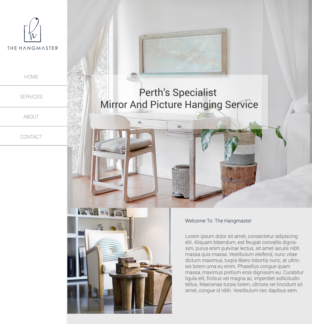 brand design and webpage design