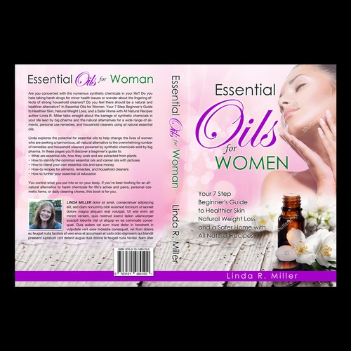 book and ebook cover for women beginners using essential oils