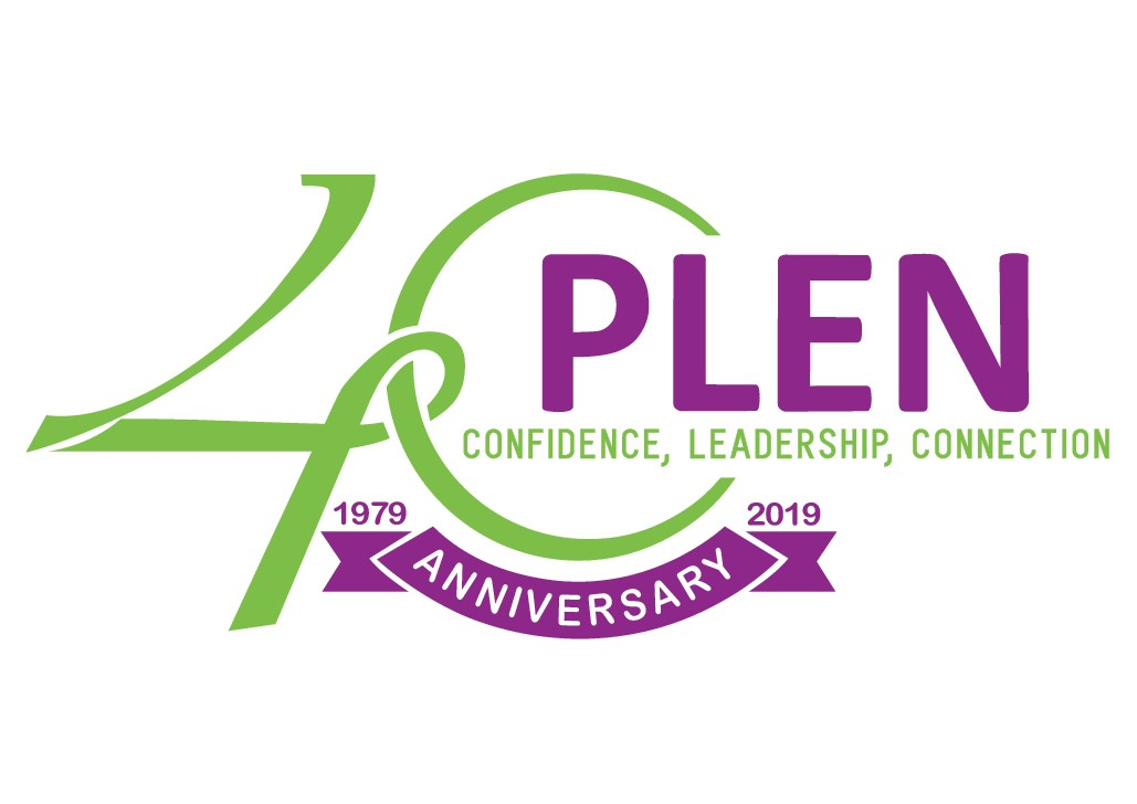 Design PLEN's 40th Anniversary Logo and help more women lead!