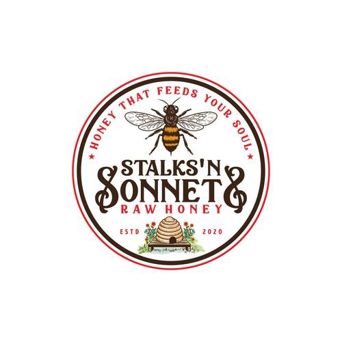 Stalks 'n Sonnets Raw Honey