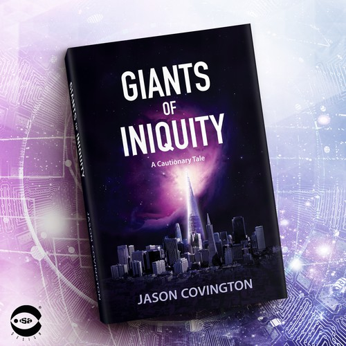"Book cover for ""Giants of Iniquity"" by Jason Covington"