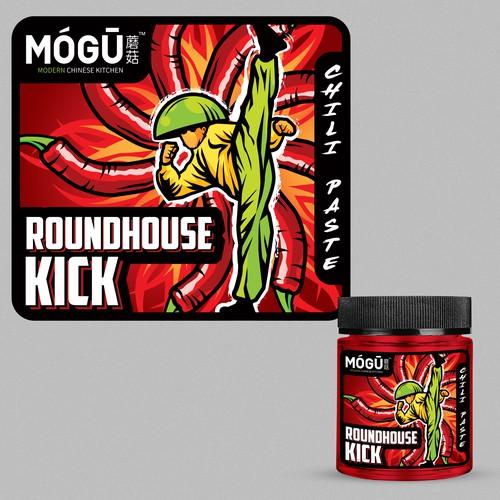 Roundhouse KICK Label