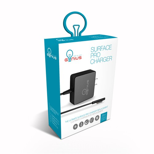 Packaging redesign for Surface Pro Charger