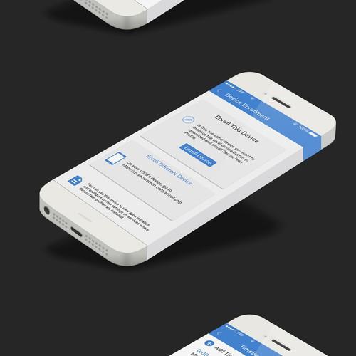 Design of iOS App