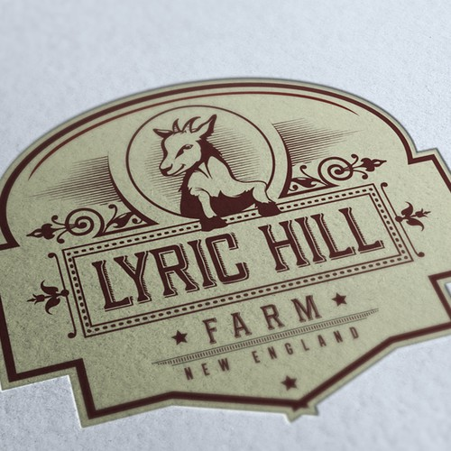 Get Our Goat! Create the next logo for Lyric Hill Farm