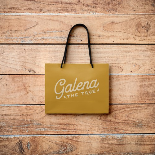 Logo and brand identity pack for Galena, the TRUE