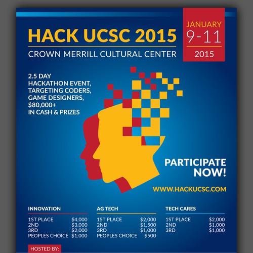 Poster for Hackathon: Hack UCSC 2015