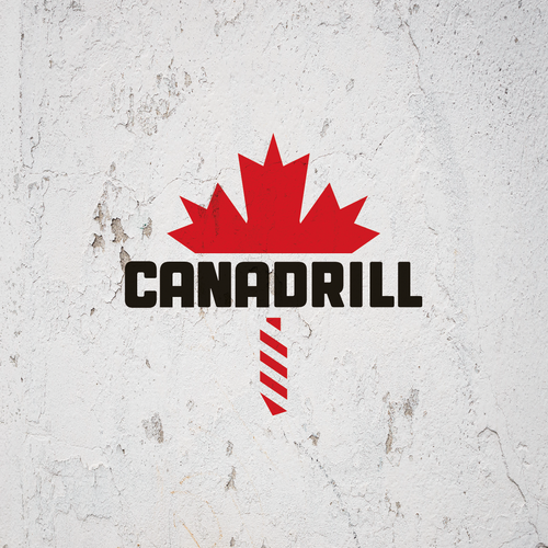 logo concept for drilling company