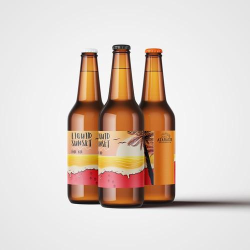 Atraxie Brewery label