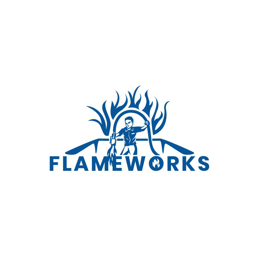 Design a logo with Flame or Fire