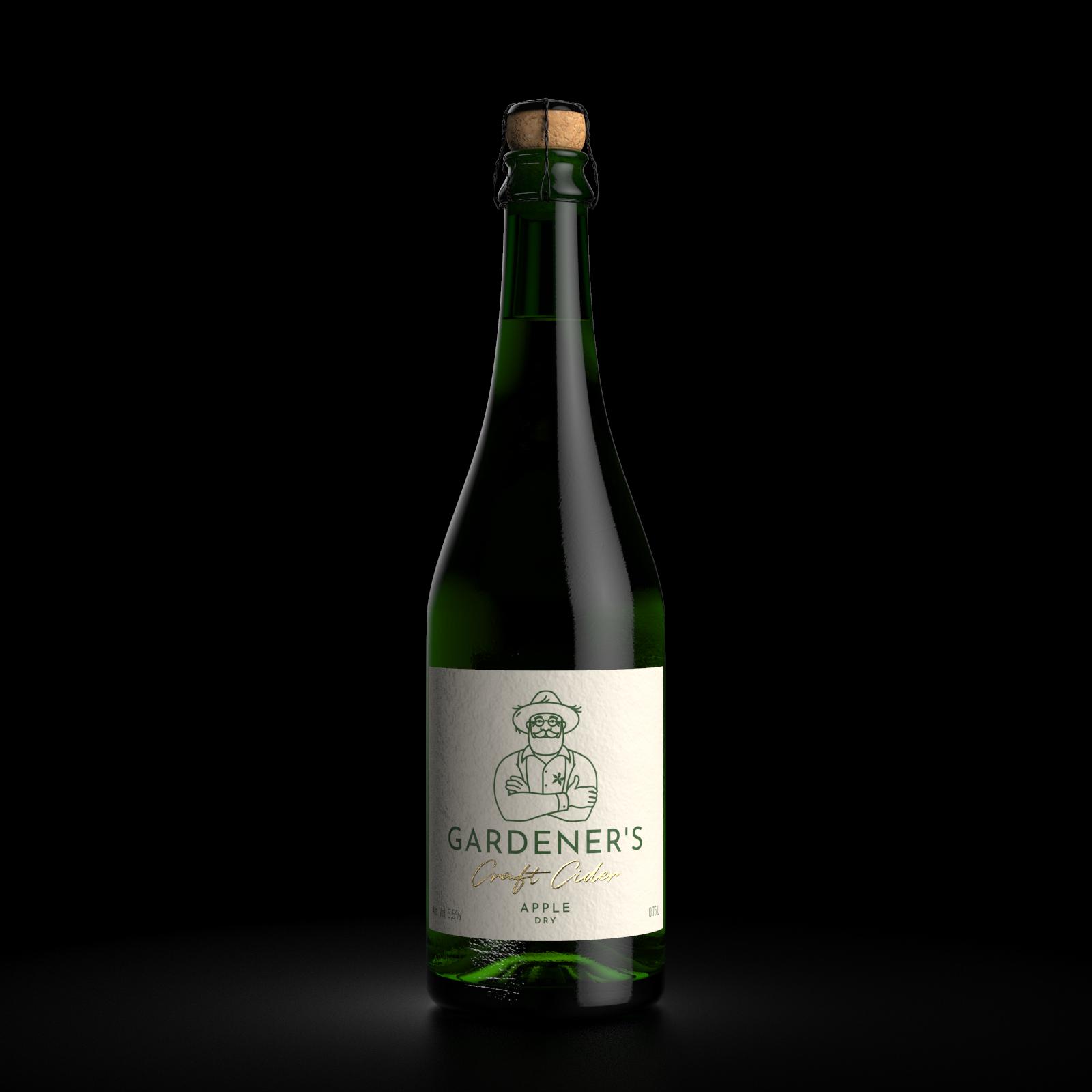 GARDENER'S Cider Label Design