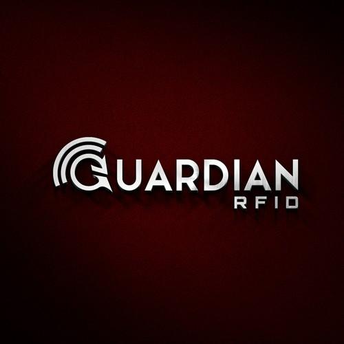 Logo design for technology company Guardian RFID