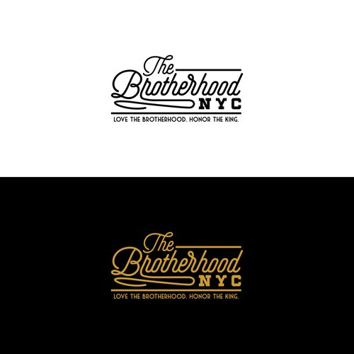 Urban Hipster Logo For A Brotherhood NYC