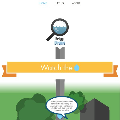Scrolling Action Website