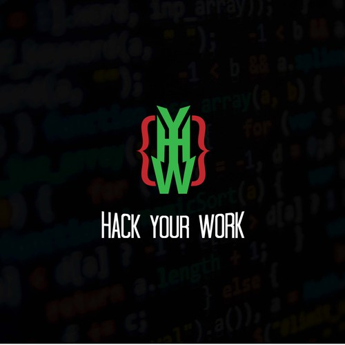 Hack Your Work Concept