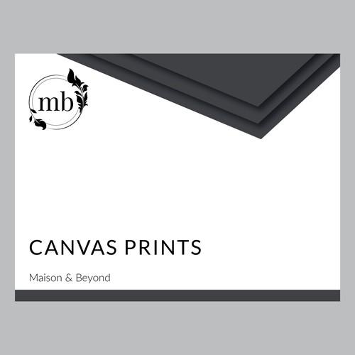 Canvas Prints Box Design