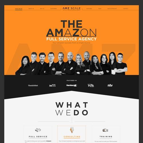 Creative Web landing Page