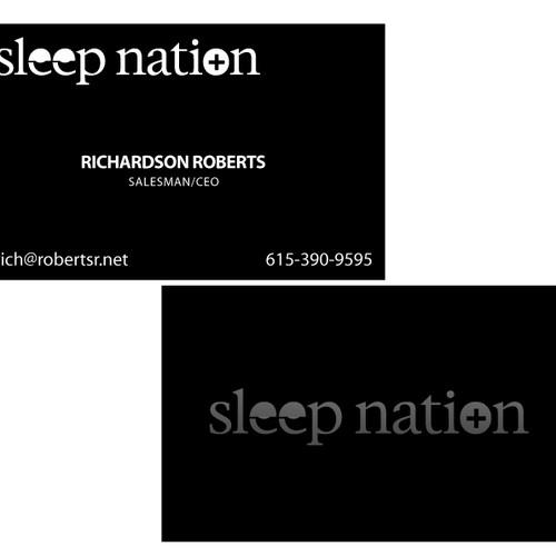 Create the next logo for Sleep Nation