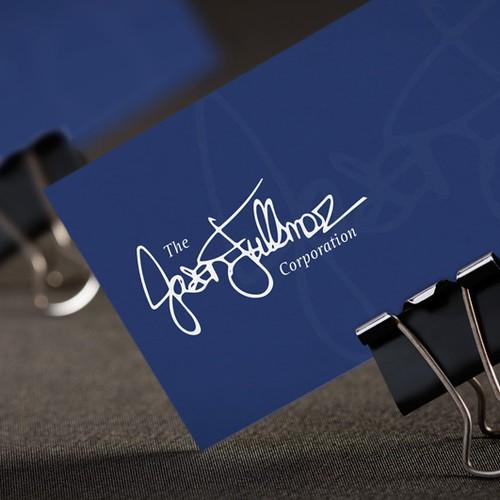 Signature Style Logo Design