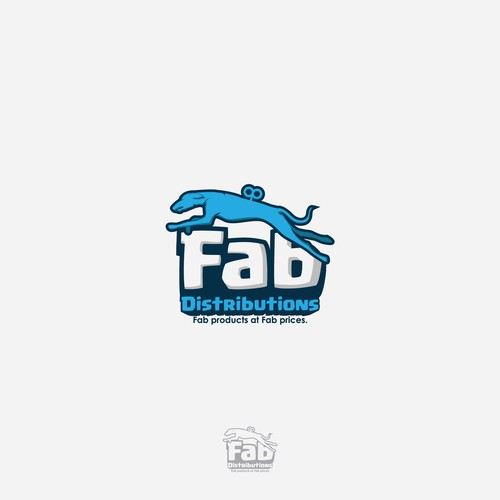 character, mascot for Fab Distributions