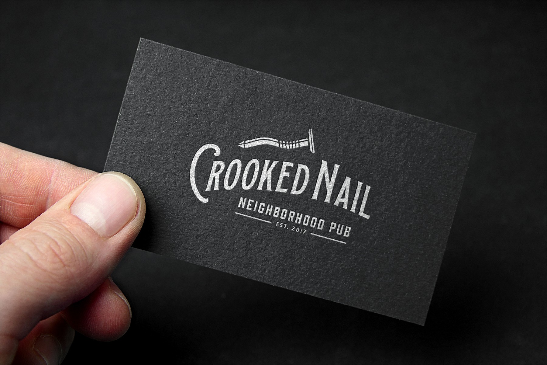 Create a unique design for Crooked Nail