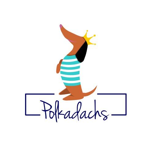 finalist logo concept for polkadachs