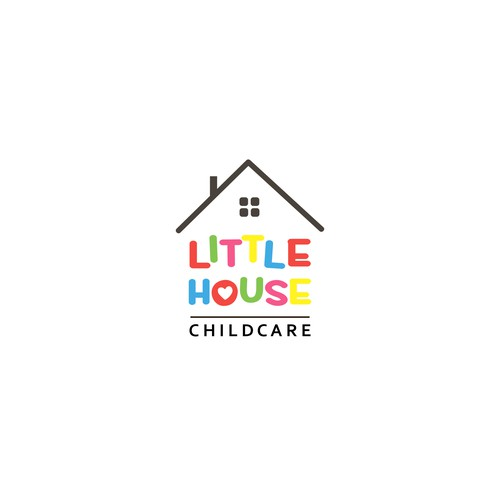 Logo concept for childcare facility.