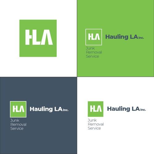 Logo for junk haulers