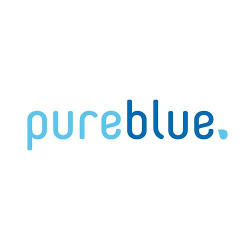 The Pure Blue logo