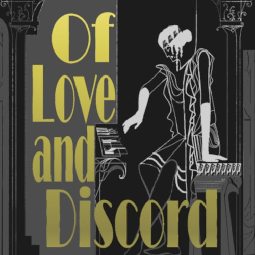 Ancient greek/Roaring twenties book cover