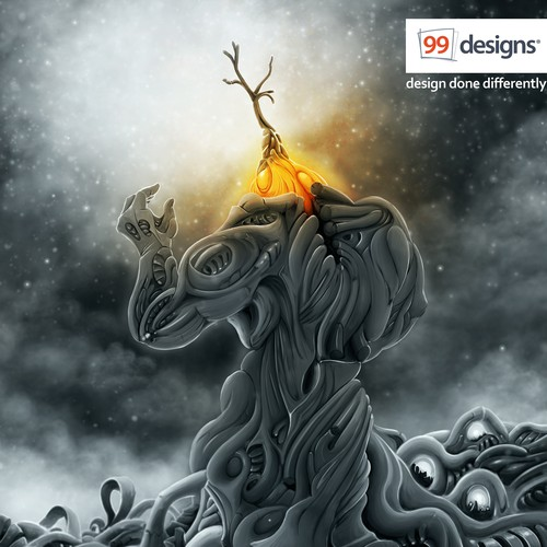 Visually stunning and creative illustration for 99designs!