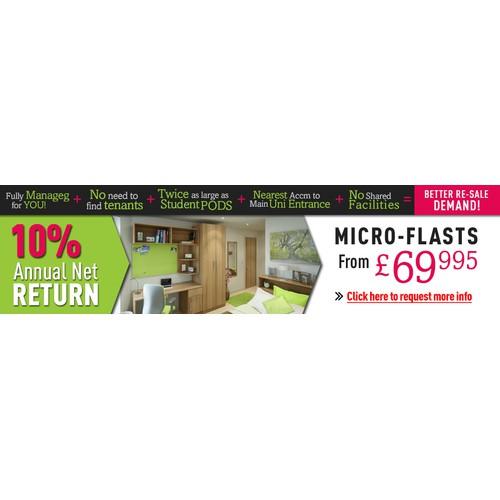 Banner Ads Design - Micro-Flats