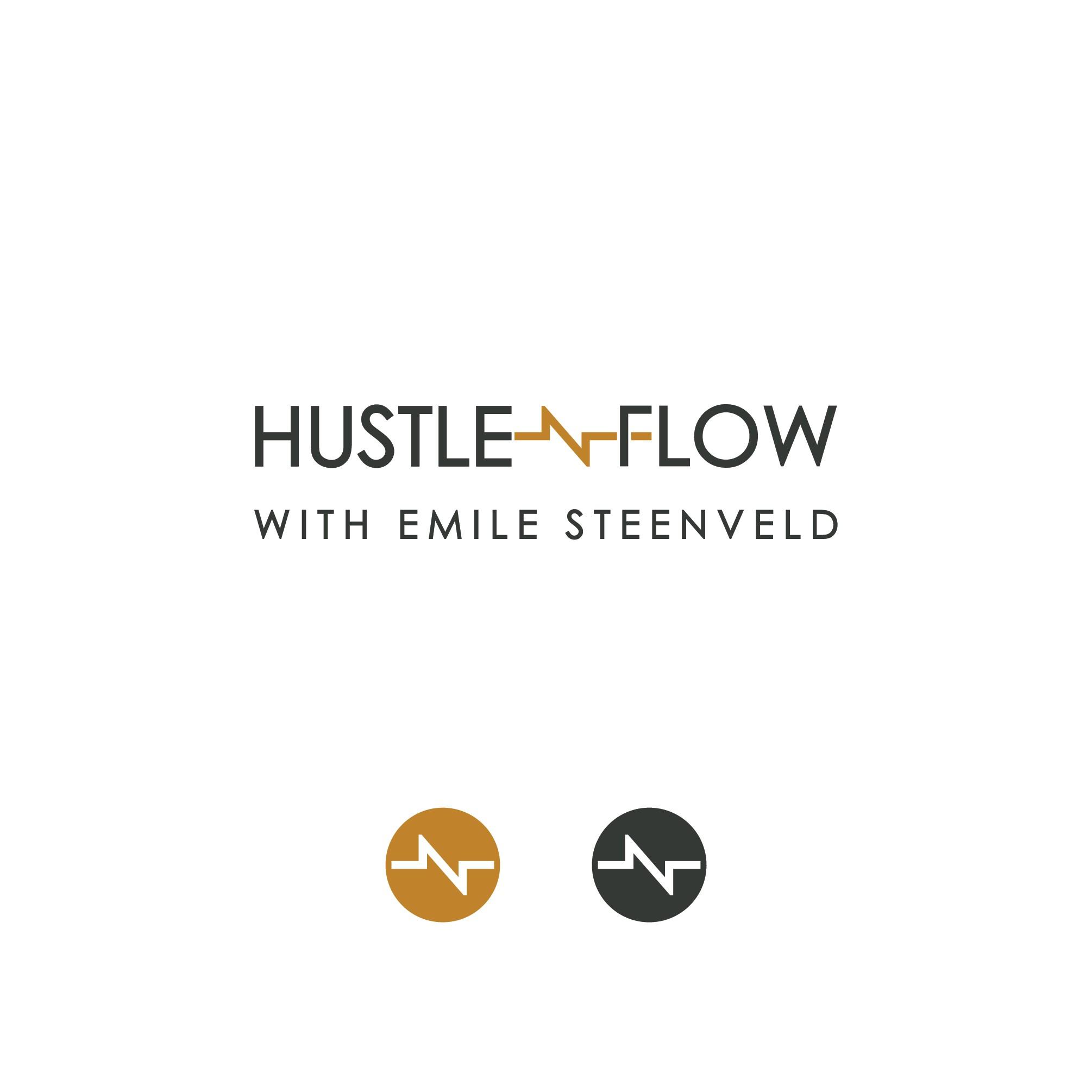 Podcast HUSTLE n FLOW Podcast Logo - Blending the feminine and the masculine