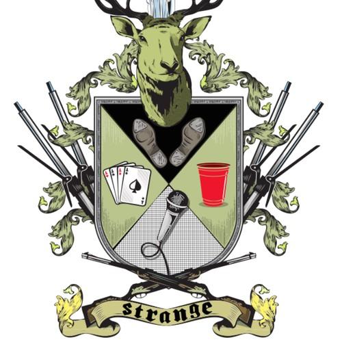 Create my Strange Family Crest