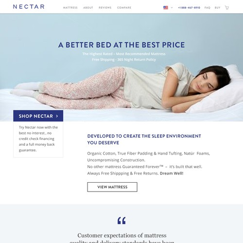 Nectar Website