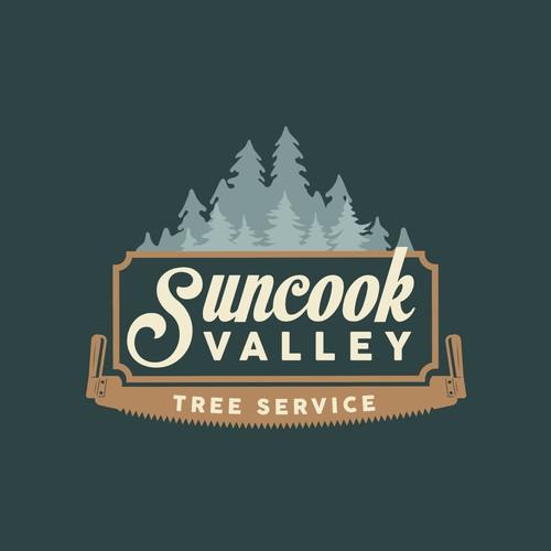 Logo for tree service