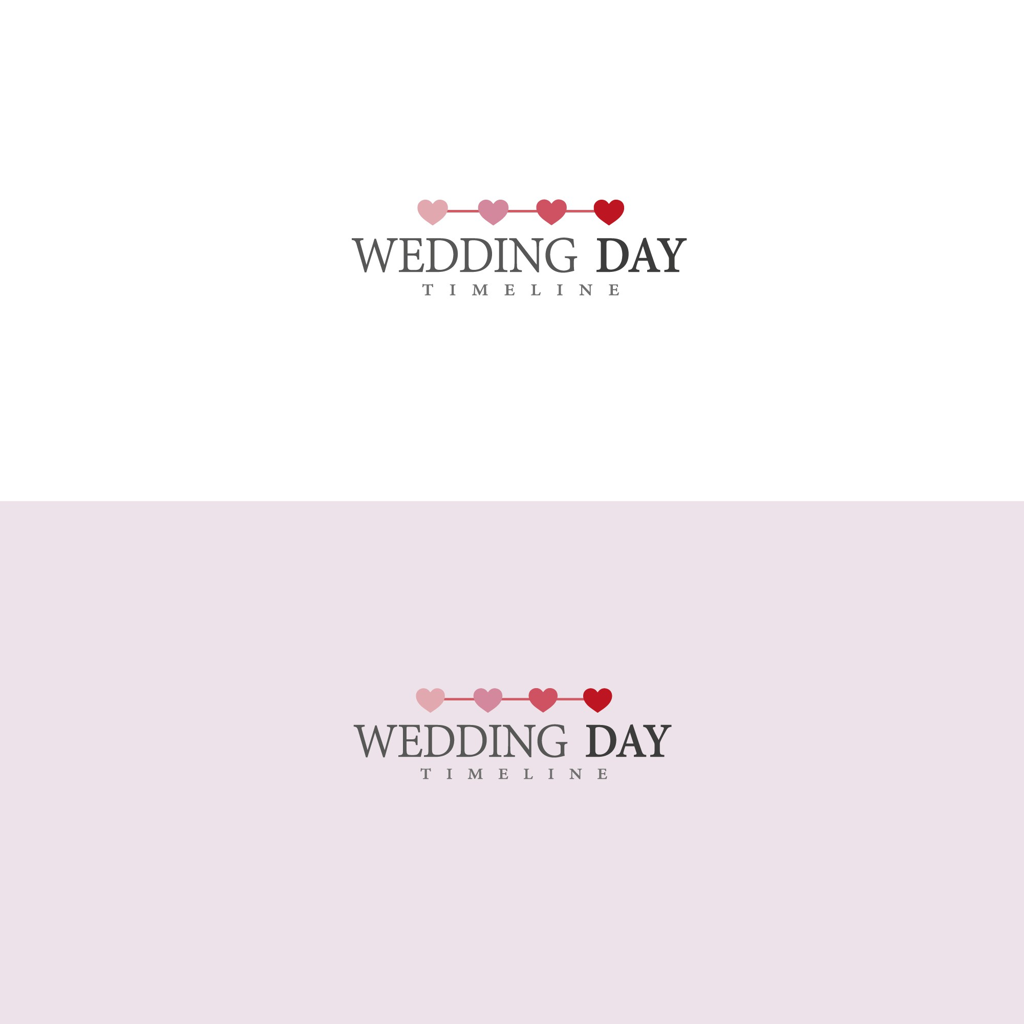 Clean and modern logo needed for wedding based service.