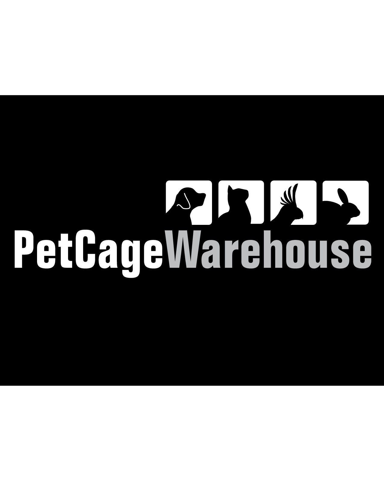 Create a Logo for a Pet Cage and Pet Merchandise Company